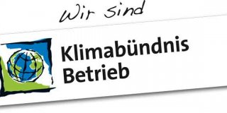 "Since 2019 we proudly are a certified ""Klimabündnisbetrieb"""